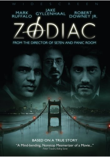 Zodiac Gyllenhaal Edwards Downey DVD R