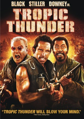 Tropic Thunder Stiller Black Downey Nolte Ws R