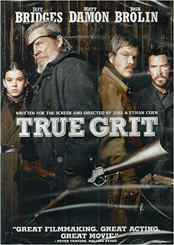 True Grit (2010) Bridges Damon Brolin DVD Pg13 Ws