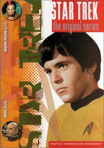Star Trek Original Series Vol. 15 Epi. 29 & 30 Clr Cc 5.1 Nr