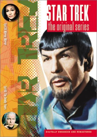 Star Trek Original Series Volume 20 Episodes 39 & 40 Clr Cc 5.1 Nr
