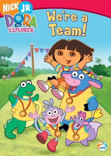 We're A Team Dora The Explorer Nr