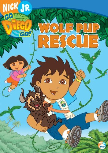 Go Diego Go! Wolf Pup Rescue Clr Nr