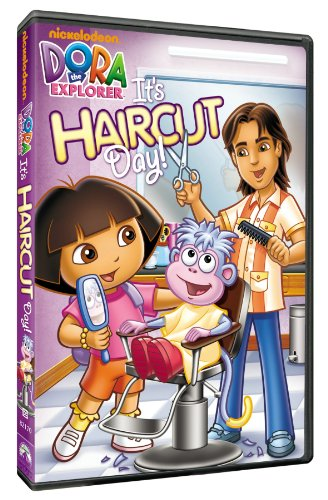 It's Haircut Day Dora The Explorer Nr