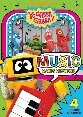 Music Makes Me Move Yo Gabba Gabba Nr
