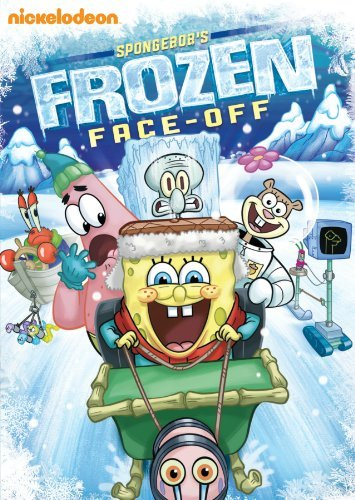Spongebob Squarepants Spongebob's Frozen Face Off DVD Nr
