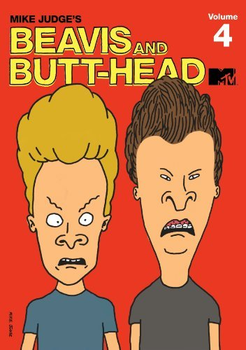 Beavis & Butt Head Volume 4 DVD