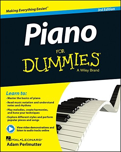 Hal Leonard Corp Piano For Dummies 0003 Edition;