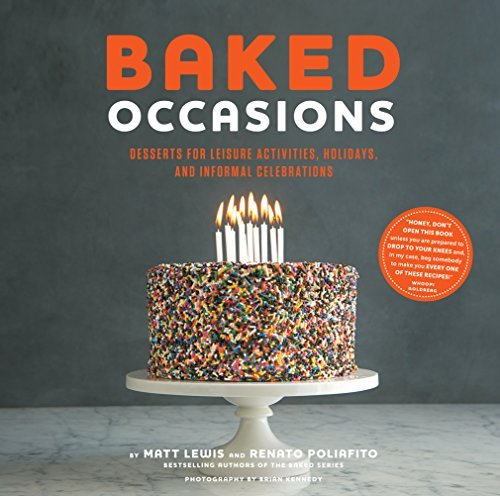 Matt Lewis Baked Occasions Desserts For Leisure Activities Holidays And In