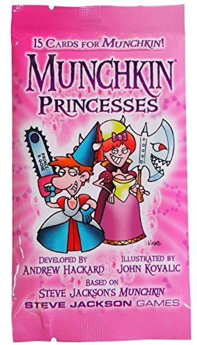 Steve Jackson James Munchkin Princesses Card Pack