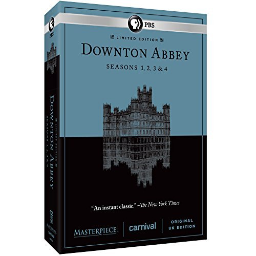 Downton Abbey Seasons 1 4 DVD