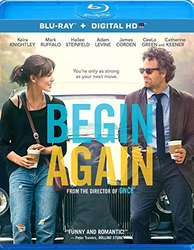 Begin Again Ruffalo Knightley Levine Blu Ray Dc