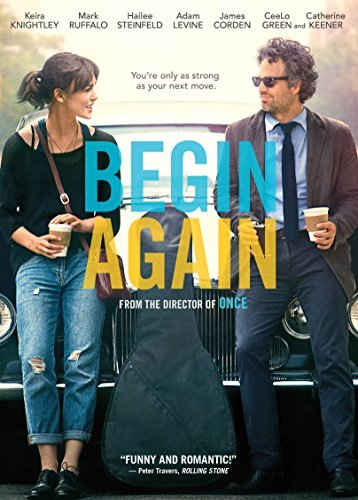 Begin Again Ruffalo Knightley Levine DVD