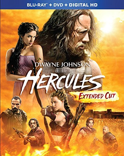 Hercules (2014) Johnson Hurt Mcshane Blu Ray DVD Dc Pg13