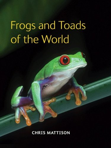 Chris Mattison Frogs And Toads Of The World