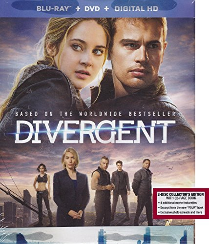 Divergent Digi Book (blu Ray DVD Digital Hd) Digi Book (blu Ray DVD Digital Hd)