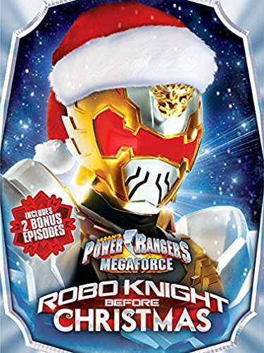 Power Rangers Megaforce Robo Knight Before Christmas DVD