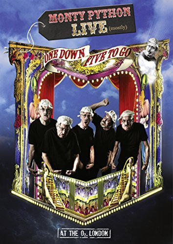 Monty Python Live (mostly) One Down Five To Go DVD Pg13