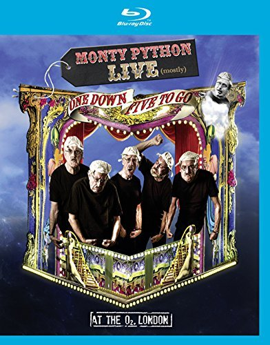 Monty Python Live (mostly) One Down Five To Go Blu Ray Pg13