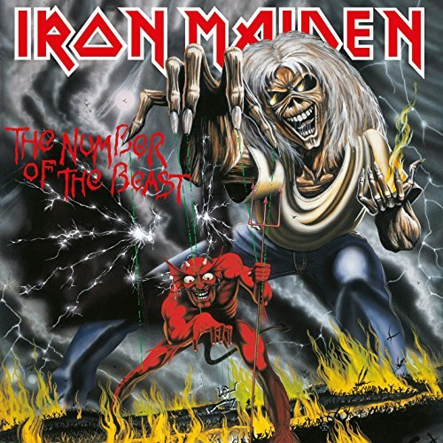 Iron Maiden Number Of The Beast Import Gbr