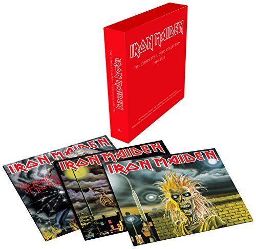 Iron Maiden The Complete Albums Collection 1980 1988 Lp Box Set Limited Edition 2500 Copies