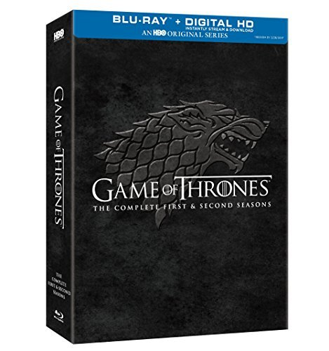 Game Of Thrones Season 1 Season2 Blu Ray Dc