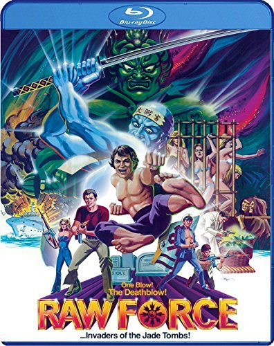 Raw Force Raw Force Blu Ray DVD R