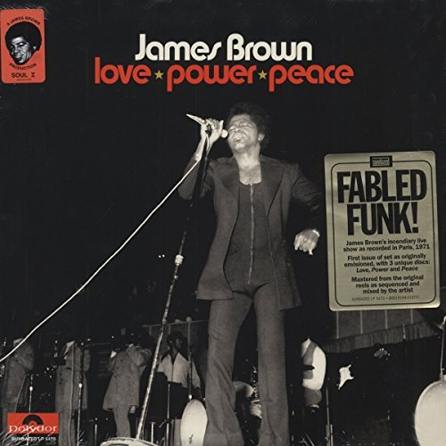 James Brown Love Power Peace