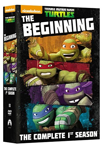 Teenage Mutant Ninja Turtles Season 1 The Beginning DVD