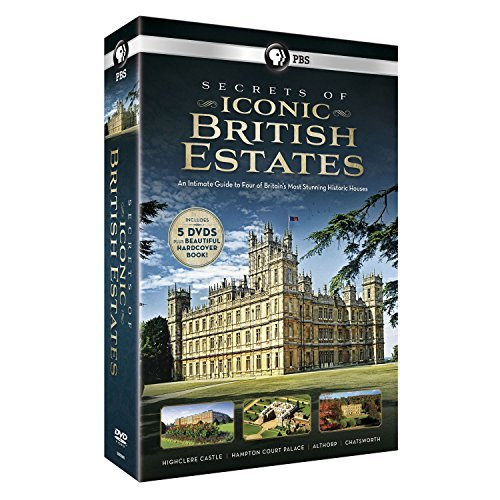 Secrets Of Iconic British Estates Pbs DVD