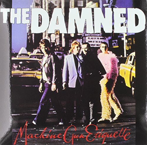 Damned Machine Gun Etiquette Limited Edition Red Vinyl Lp