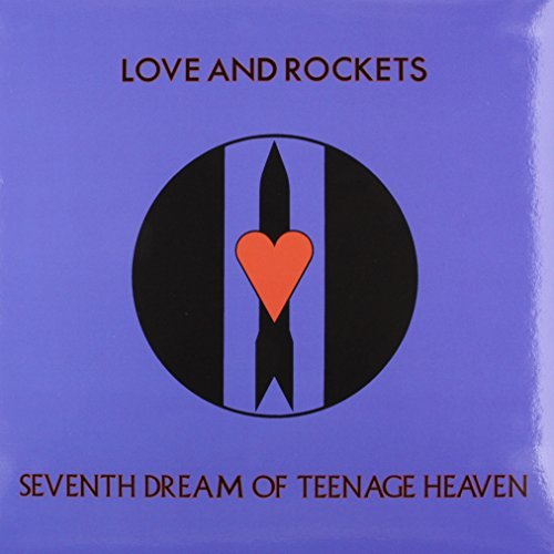 Love & Rockets Seventh Dream Of Teenage Heaven 150 Gram Opaque Blue Vinyl Limited To 1500