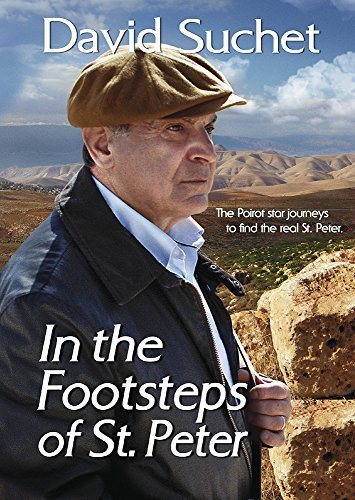 David Suchet In The Footsteps David Suchet In The Footsteps DVD Mod This Item Is Made On Demand Could Take 2 3 Weeks For Delivery