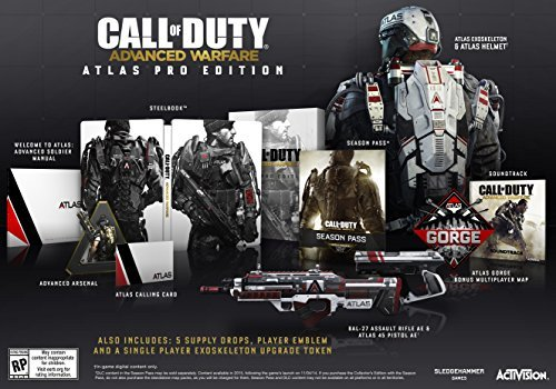 Ps3 Call Of Duty Advanced Warfare Atlas Pro Edition