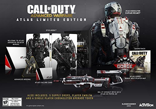 Ps3 Call Of Duty Advanced Warfare Atlas