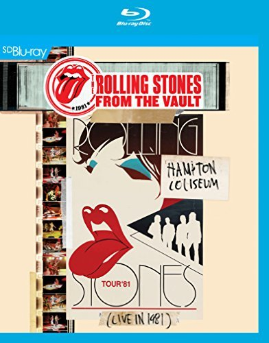Rolling Stones From The Vault Hampton Coliseum 1981 Blu Ray