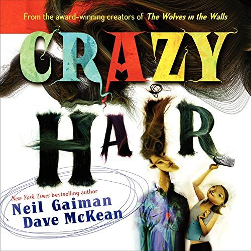 Neil Gaiman Crazy Hair