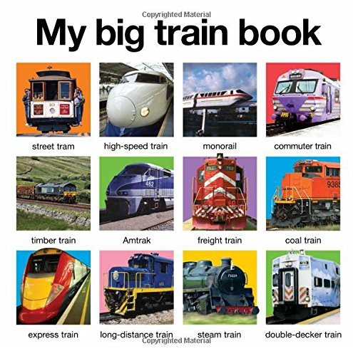 Roger Priddy My Big Train Book