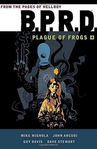 Mike Mignola B.P.R.D Plague Of Frogs Volume 4