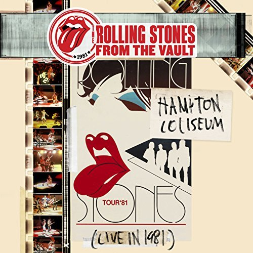 Rolling Stones From The Vault Hampton Coliseum 1981 Lp DVD
