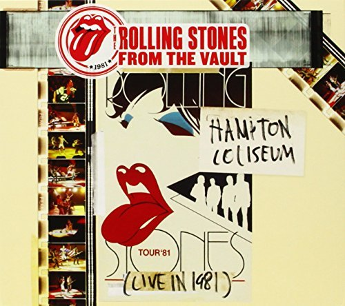 Rolling Stones From The Vault Hampton Coliseum 1981 CD DVD