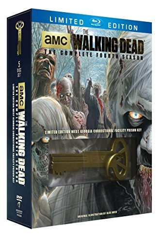 The Walking Dead Complete Season 4 Blu Ray + Digit Blu Ray Special Edition