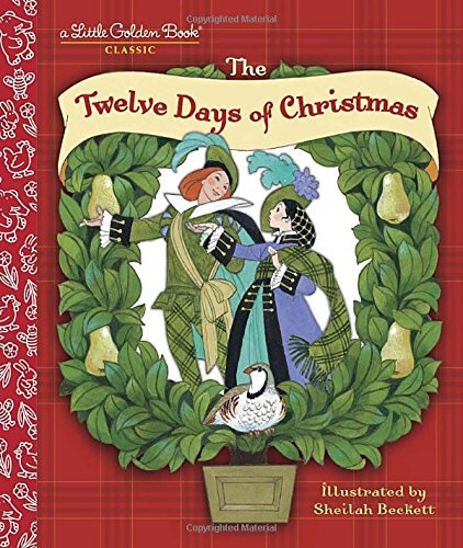 Golden Books The Twelve Days Of Christmas