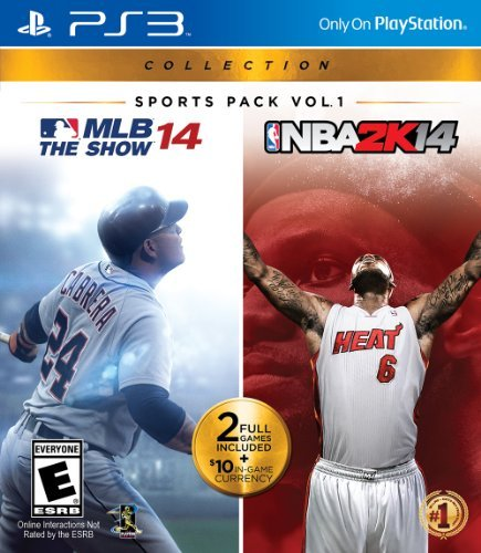 Ps3 Sports Pack Vol. 1 Mlb 14 The Show Nba 2k14 Sports Pack Vol. 1 Mlb 14 The Show Nba 2k14