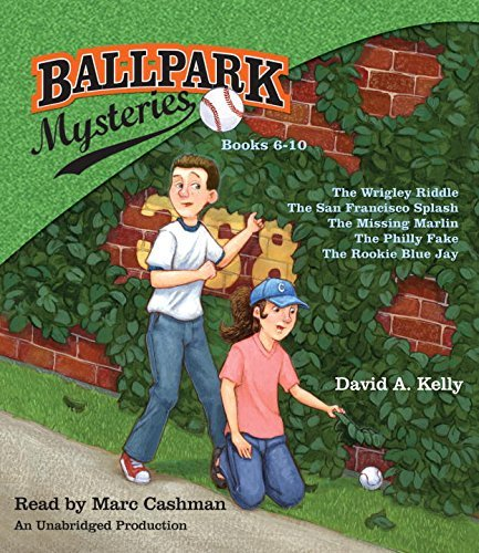 David A. Kelly Ballpark Mysteries Collection Books 6 10 The Wrigley Riddle; The San Francisco