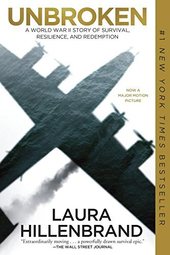Laura Hillenbrand Unbroken (movie Tie In Edition) A World War Ii Story Of Survival Resilience And