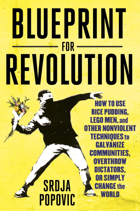 Srdja Popovic Blueprint For Revolution How To Use Rice Pudding Lego Men And Other Nonv