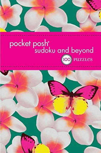 The Puzzle Society Pocket Posh Sudoku And Beyond 4 100 Puzzles