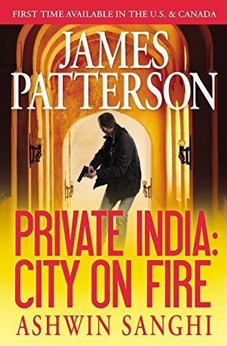 James Patterson Private India City On Fire (library Edition)