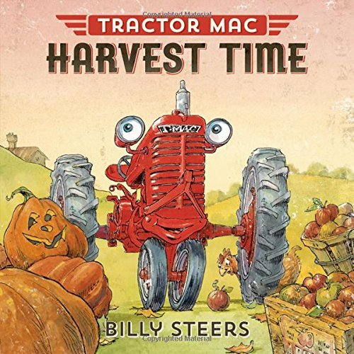 Billy Steers Tractor Mac Harvest Time